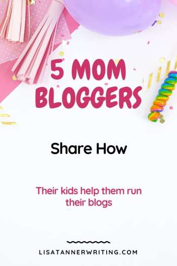 Mom bloggers share how their kids help them run their blogs. #mombloggers #mombosslife