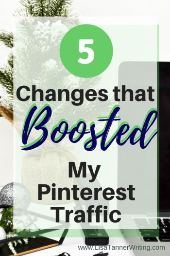 Ready to boost your blog's Pinterest traffic? Try these five things that worked for me! #bloggingtips #pinteresttraffic