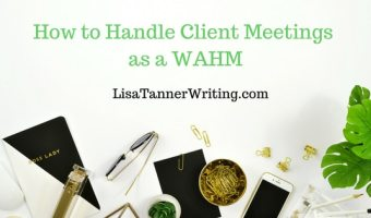 How to Handle Client Meetings as a WAHM