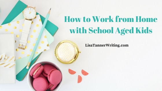 Work from home with school aged kids more easily with these tips