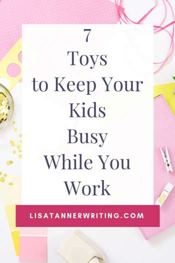 These toys are the perfect way to keep your kids busy while you work. They're fun and engaging, and won't drive you crazy with tons of excess noise. #toys #mombosslife