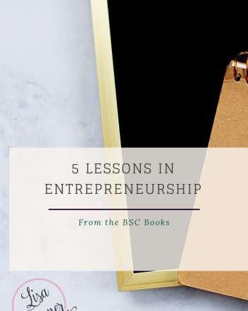 5 lessons in entrepreneurship