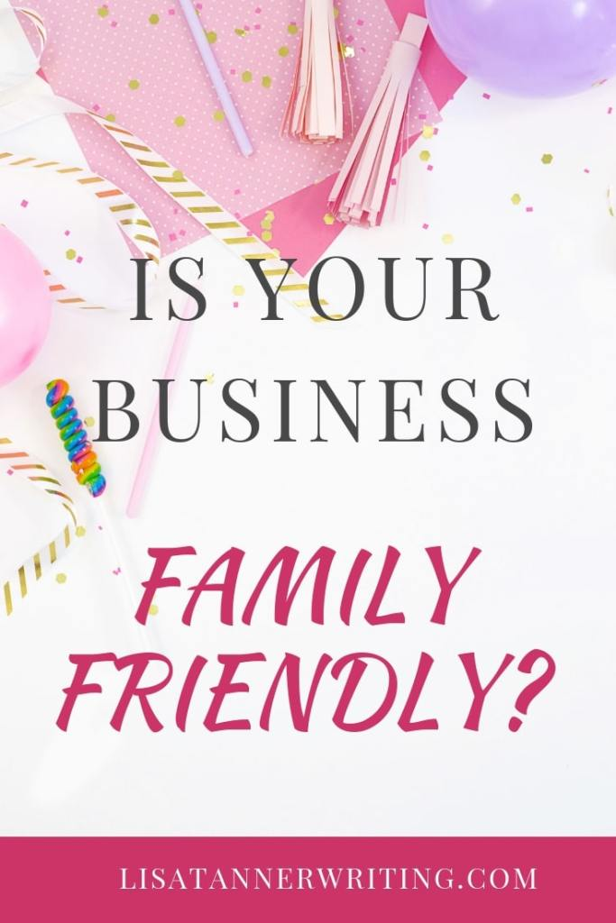 Is your business family friendly? Here are some ways to make working from home easier.