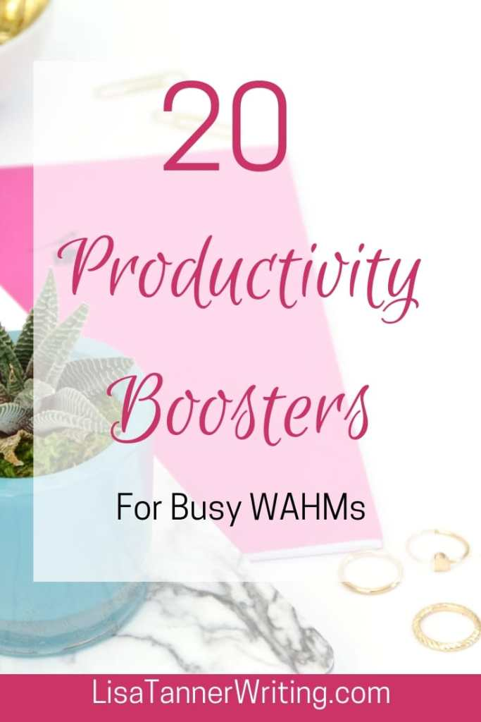 Here are 20 tips to help you boost your productivity. #productivity #momboss #worklifebalance