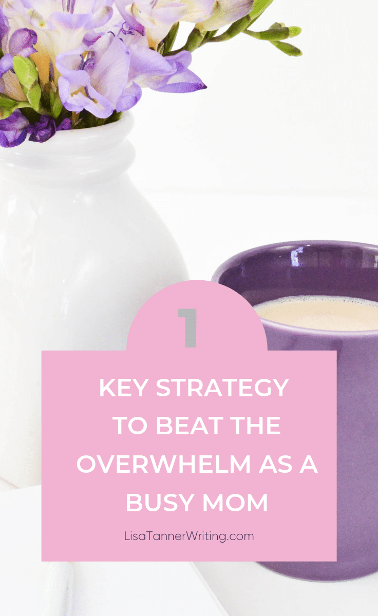 Ready to fight the overwhelm? Here's how! #momboss
