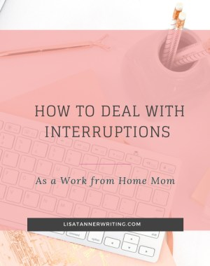 deal with interruptions