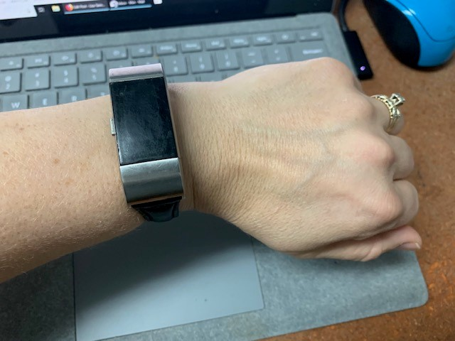 FitBit Charge 2 on a wrist