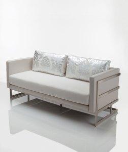 Lobby Club Love Seat by Lisa Taylor Designs