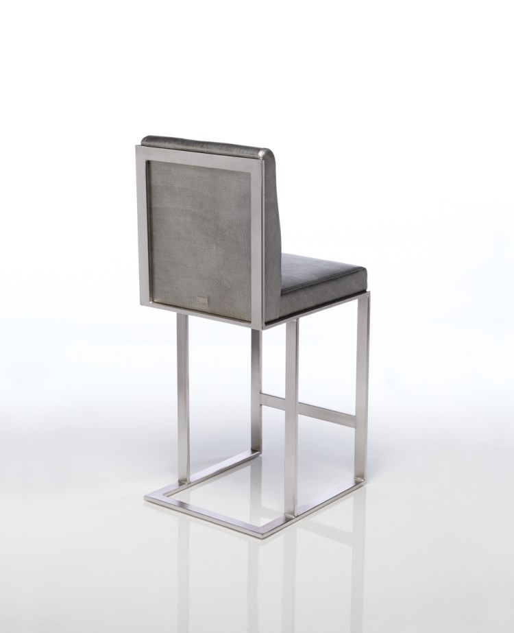 Lobby Stationary Counter Stool by Lisa Taylor Designs