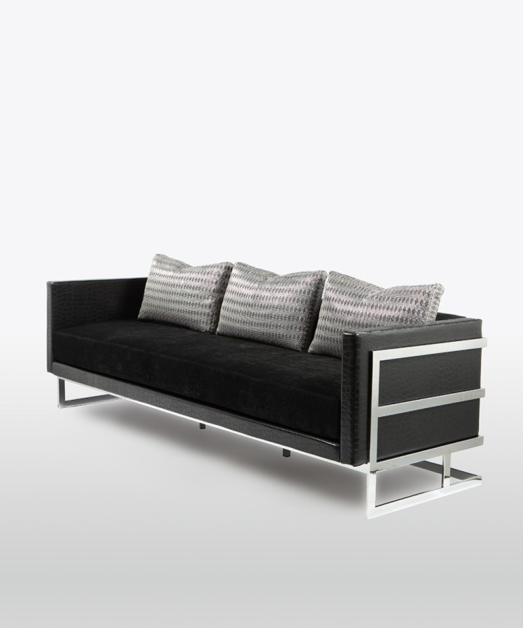 Lobby Club Sofa by Lisa Taylor Designs