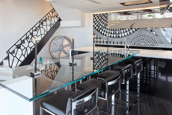 Lobby Counter Stools - Picture courtesy of Rob Bowen Design-2
