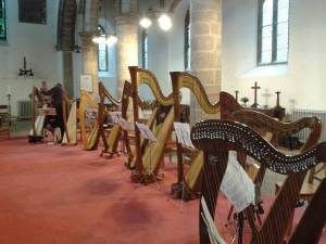 Langar Church Harp Day
