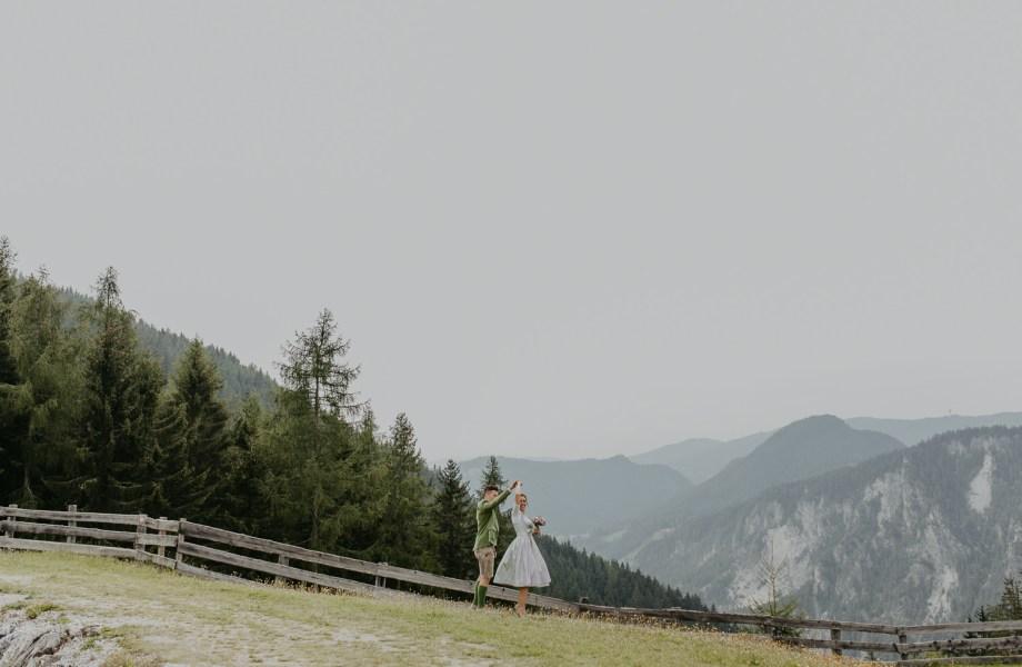 Berghochzeit von Ulla & Georg