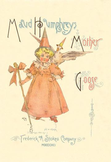 maud-humphrey-s-mother-goose-book-cover-20x30-poster
