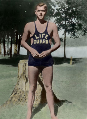 In his seven years as a lifeguard, Ronald Reagan saved 77 lives and a set of false teeth.