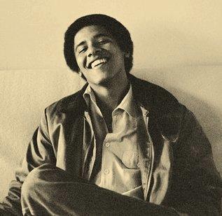 A teenage Barack Obama in a 1980 photo by Lisa Jack