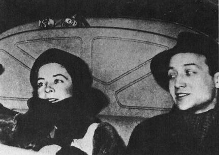 Dorothy Hale and Isamu Noguchi at the premiere of Four Saints in Three Acts, February 7, 1934, Hartford, Connecticut