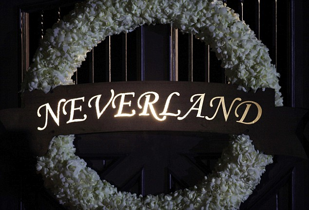 Neverland gate in Los Olivos, California, July 1, 2009