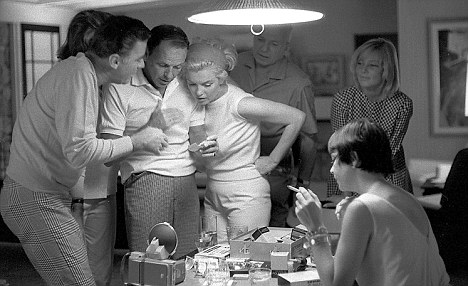 Peter Lawford, Frank Sinatra, and Marilyn Monroe ca. 1961-62
