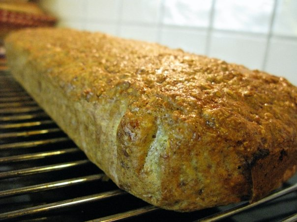 Hjemmebakt lavkarbobrød