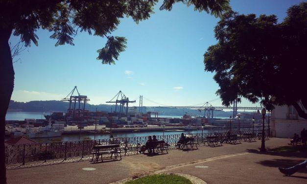 Les belvédères de Lisbonne – Jardim 9 de Abril