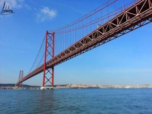 Pont 25 Avril, croisière sur le Tage, Nosso Tejo