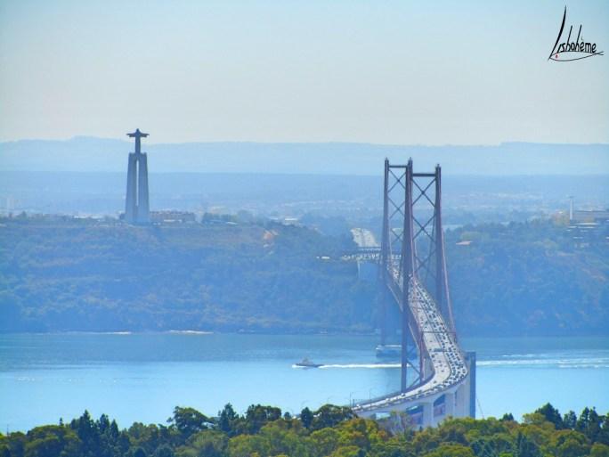 Cristo-Rei et le pont 25 avril
