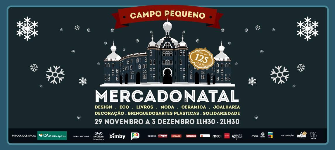 Marché de noel de Campo Pequeno 2017