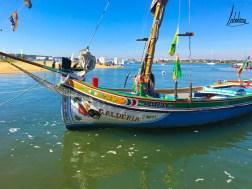 Chaloupe ou Bote de Fragata, bateau typique de l'estuaire du Tage