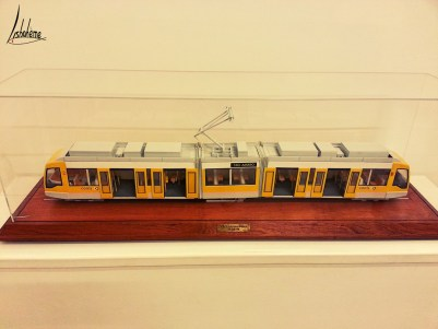 Maquette tramway, musée carris