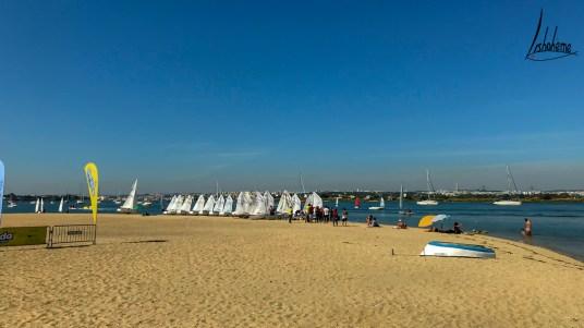 La plage de Seixal
