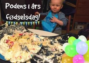 lagkage fødselsdag 1 år gammel
