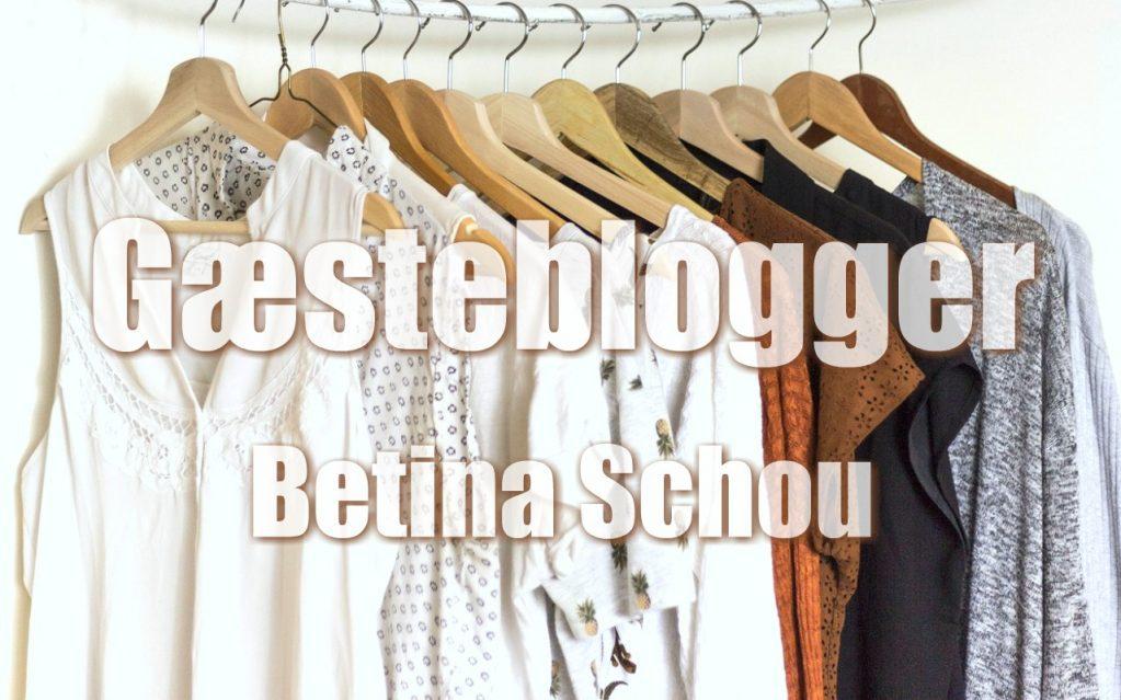 Bæredygtig kapsel garderobe af Gæsteblogger Betina Schou