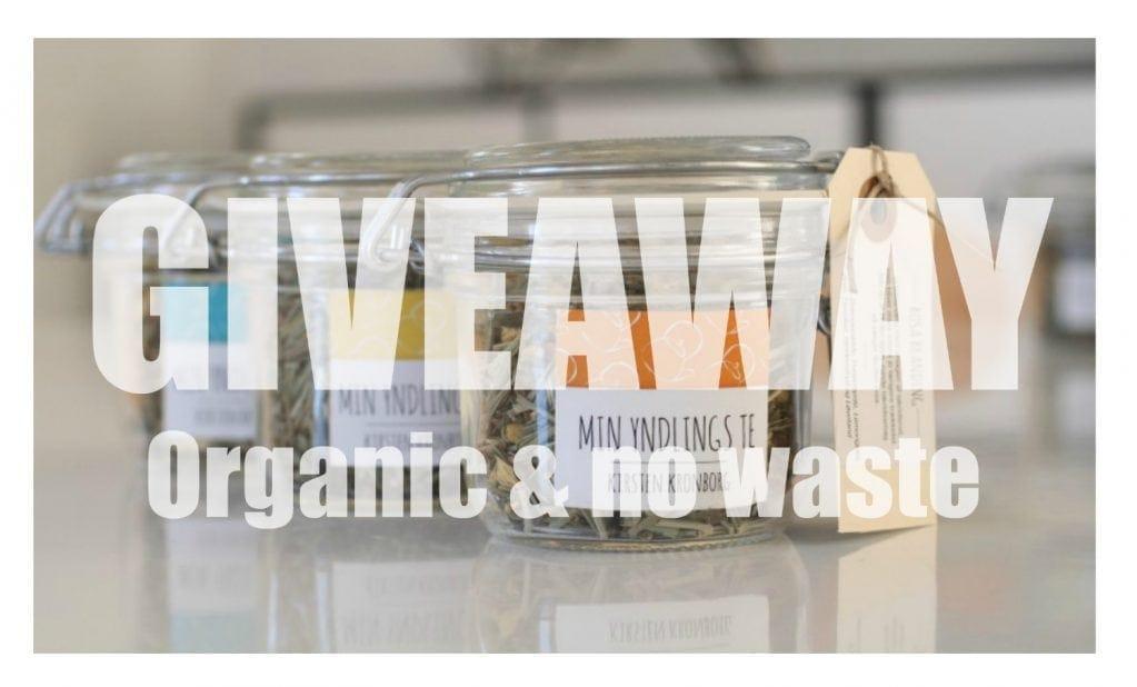 """""""Min yndlings te"""" & GIVEAWAY med økologiske, zero waste præmier (Afsluttet)"""
