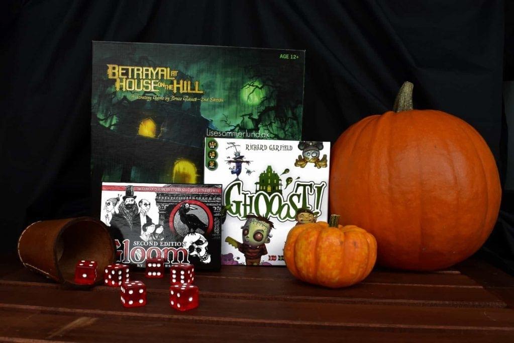 Halloween game night spilaften spil games