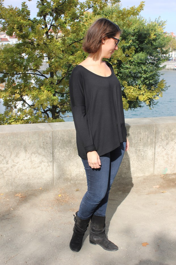 Trop top oversize Boxy - Ivanne S