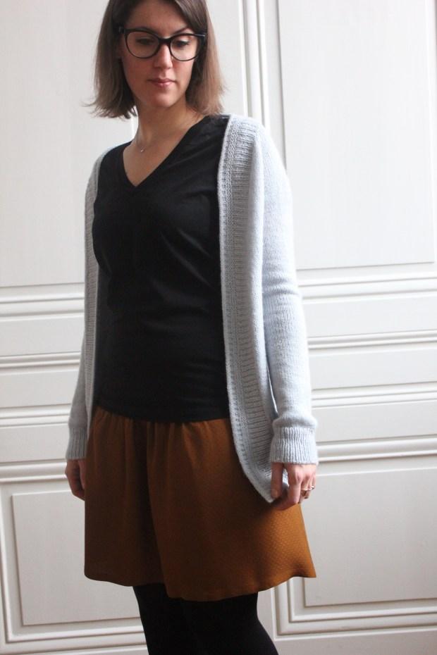 Jupe 1001 perles froncée - Ivanne S