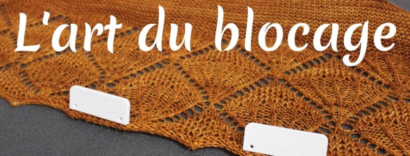 Blocage - comment bloquer un tricot