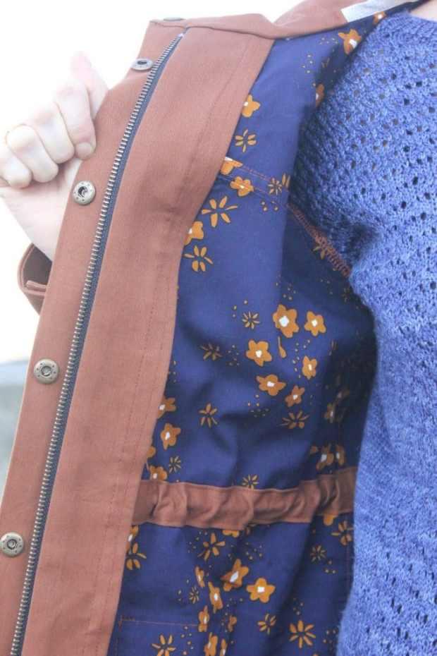 Kelly anorak pattern - Closet case