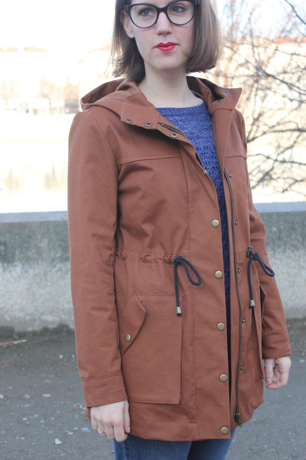 Kelly anorak pattern - Closet case