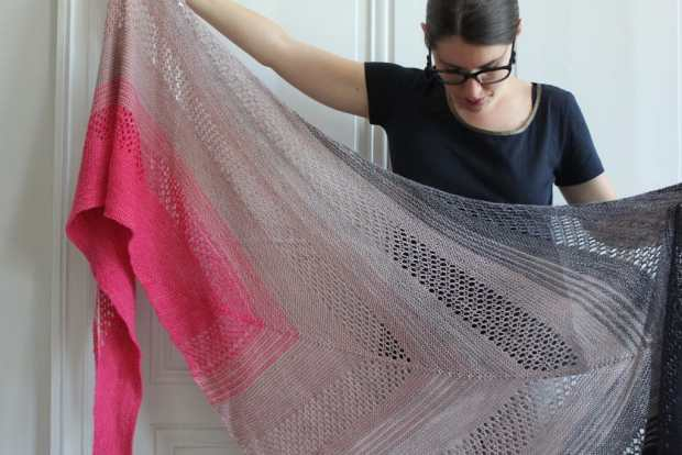 Find your fade shawl - Andrea Mowry