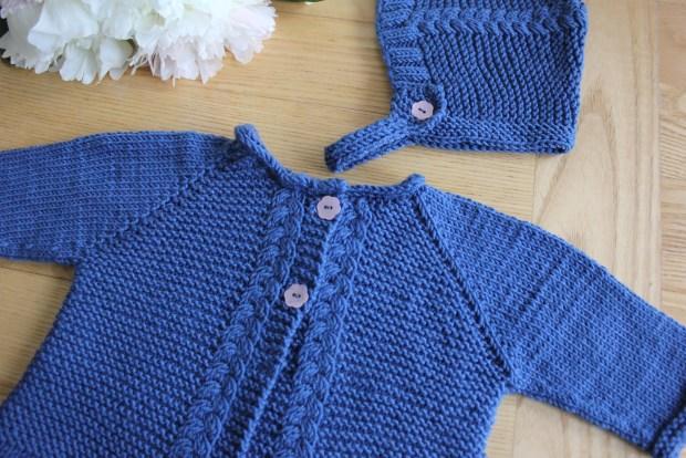 Mavis Baby set - Oomie knits