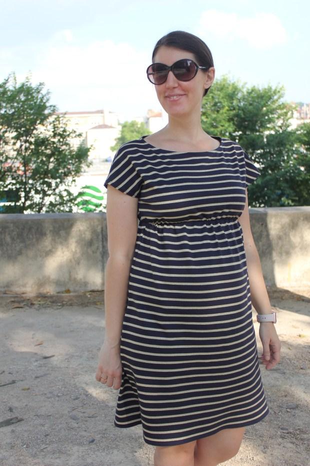 Petite robe noire - Coupé couzu
