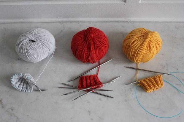 tricoter en rond