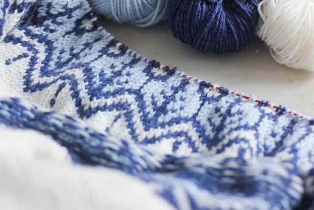 Tricoter du jacquard