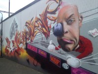 I mean... Even if you're against graffitti you should admit that these are pretty rad.