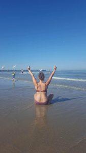 Yo beachtime lieve Syl