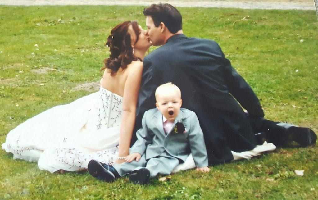 Seven year itch trouwen Lisette in trouwjurk Lisette Schrijft