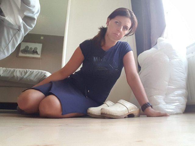 sylvie meis schoenen voeten