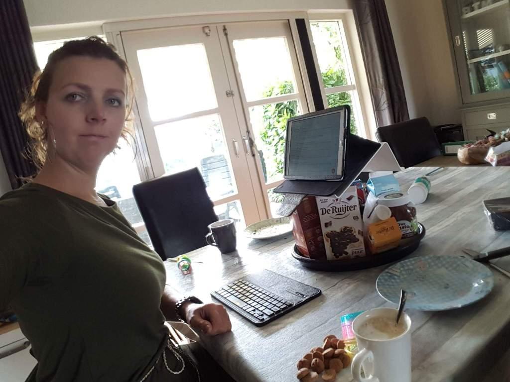 blog thuiswerken ergonomisch kantoor